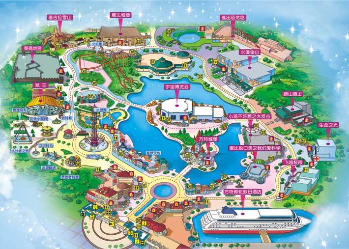 青岛方特梦幻王国游玩攻略,游玩路线推荐,五一玩青岛方特怎么订门票